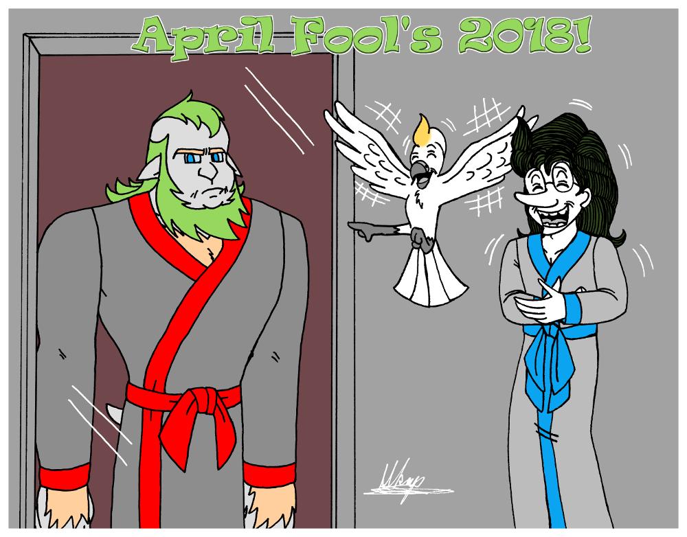 April Fool's 2018