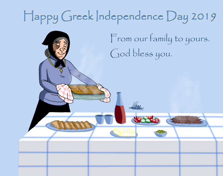 Greek Independence Day 2019